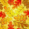 Florales nahtloses Herbst-Muster