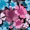 Nahtloses florales schwarzes Muster