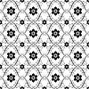Weiß-Schwarz Jahrgang nahtlose Muster