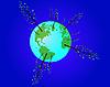 ökologischer Globus
