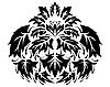 gothisches florales Pattern
