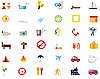 Set von Reisen-Icons