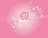 rosa floraler Hintergrund
