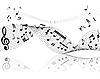 ID 3087952 | Hintergrund von Musiknoten | Stock Vektorgrafik | CLIPARTO