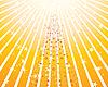 ID 3089050 | Stilisierter Tannenbaum in gelnen Strahlen | Stock Vektorgrafik | CLIPARTO