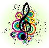 Musikalisches Grunge-Design