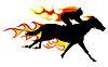 Flamme Pferd