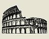 Römischen Kolosseum