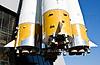 ID 3233530 | Rosyjska rakieta transport kosmiczny | Foto stockowe wysokiej rozdzielczości | KLIPARTO