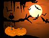 Happy Halloween-Karte