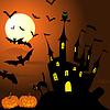 ID 3369101 | Szczęśliwa karta halloween | Klipart wektorowy | KLIPARTO