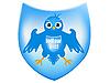 ID 3083000 | Vogel auf dem Wappenschild | Stock Vektorgrafik | CLIPARTO
