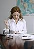 ID 3088394 | 비즈니스 여자가 그녀의 직장에서 근무합니다 | 높은 해상도 사진 | CLIPARTO