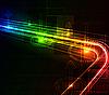 程式化抽象背景 | 光栅插图