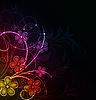 ID 3087733 | Bunter floraler Hintergrund | Stock Vektorgrafik | CLIPARTO
