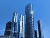 Bau des internationalen Business Center in Moskau | Stock Photo