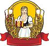 Etykieta piwa | Stock Illustration