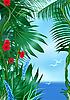 Tropik morze | Stock Illustration