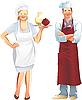 Restaurant-Service | Stock Illustration