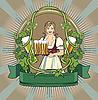 Bier-Etikett