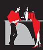 Party im Nachtclub | Stock Vektrografik