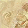 Piasku i tło shell | Stock Illustration