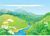 Zielone wzgórza | Stock Vector Graphics