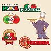 Pizza-Logo | Stock Vektrografik