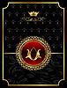 Vintage-Hintergrund mit heraldischer Krone