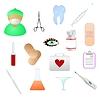 Sammlung von medizinischen Themen-Symbole