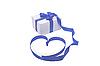 ID 3104958 | Geschenkbox mit blauer Schleife | Foto mit hoher Auflösung | CLIPARTO