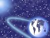 ID 3278259 | Planety w przestrzeni kosmicznej i gwiazd | Stockowa ilustracja wysokiej rozdzielczości | KLIPARTO