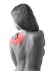 ID 3280090 | Junge Frau hält die Schulter in Schmerzen | Foto mit hoher Auflösung | CLIPARTO