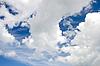 Bewölkter Himmel als Hintergrund | Stock Foto