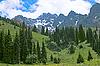 Berglandschaft | Stock Foto