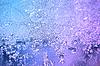 Frostmuster auf dem Fensterglas | Stock Foto