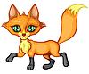 niedlicher kleiner Fuchs