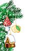 ID 3119934 | Choinka z dekoracjami | Klipart wektorowy | KLIPARTO