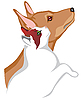 Vektor Cliparts: Katze und Hund