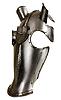 ID 3093483 | Mittelalterliche Panzerung für den Kopf eines Pferdes | Foto mit hoher Auflösung | CLIPARTO