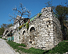 Haus in der Nähe der Festung | Stock Foto