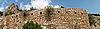 Festungsmauer auf Felsen in Balaklawa | Stock Foto