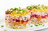 ID 3091152 | Salat mit Hering und Gemüse | Foto mit hoher Auflösung | CLIPARTO