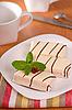 ID 3092982 | Kuchen in weißer Glasur | Foto mit hoher Auflösung | CLIPARTO