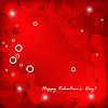 Vektor Cliparts: Valentine Hintergrund