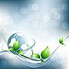 Vektor Cliparts: abstrakter Umwelt-Hintergrund