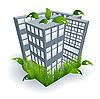 Vektor Cliparts: Umwelt-abstrakten Elementen