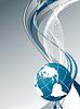 Vektor Cliparts: Technologie Hintergrund