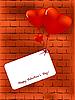 Vektor Cliparts: valentinskarte