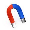 ID 3091670 | Zweifarbiger Magnet | Illustration mit hoher Auflösung | CLIPARTO